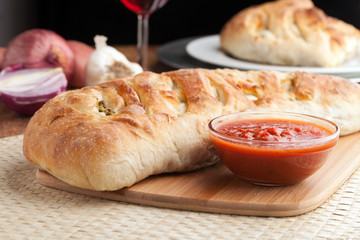 Italian Stuffed Bread