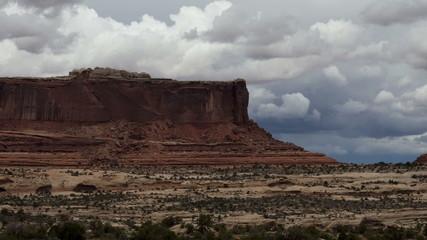 Utah Mesa Panning Time Lapse