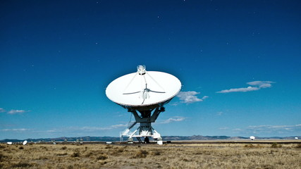 Time Lapse of the Very Large Array in New Mexico