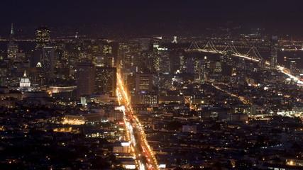 San Francisco City Sunset