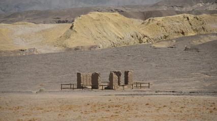 Borax Mule Team Wagon Mine - Death Valley National Park