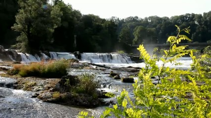 Part of Rhine Falls