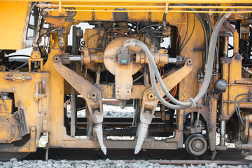 Maintenance railway machine