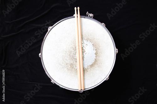 canvas print picture Drums conceptual image.