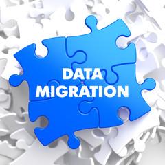 Data Migration on Blue Puzzle.