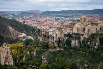 Hanging houses of Cuenca. Spain.