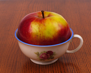 apple in a cup