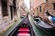 canvas print picture - venice italy