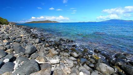 Virgin Islands Caribbean Seascape