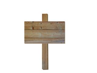 木製の掲示板