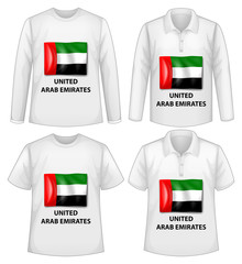 Arab Emirates shirts