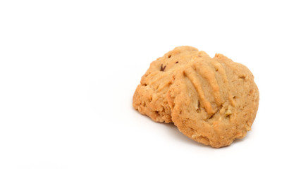 Homemade Cookies isolate on white background