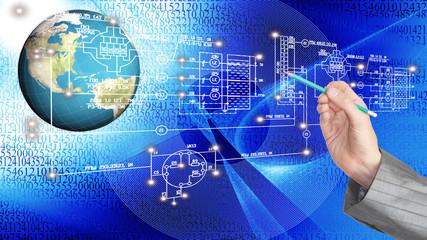 Engineering computer Internet technology.Generation