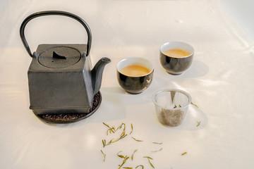 Tetsubin squire shape teapot