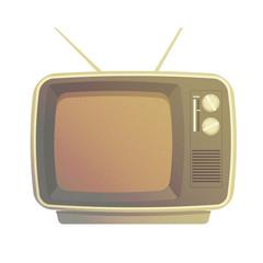 Vintage TV set Old Retro