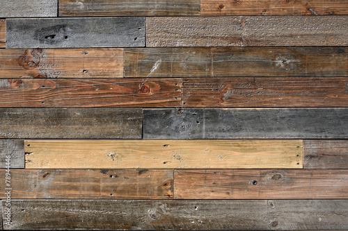 Old vintage wood textured - 78944446
