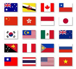 Asia-Pacific Economic Cooperation-Apec-Flag-Complete
