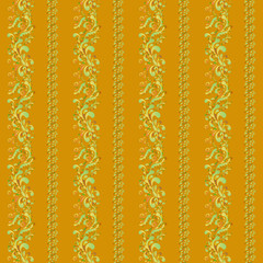 indian ornament with vertical stripes