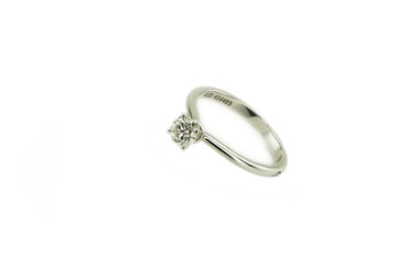 Ring isolated on a white background