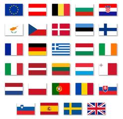 European Countries Flags Set 1