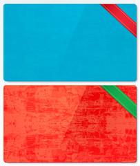 Set of cards. Vector illustration
