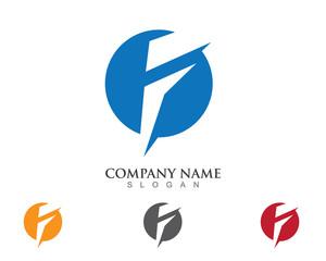 F Logo template V.2