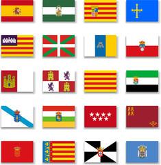 Spain Autonomous Communities Flag Collection-Complete