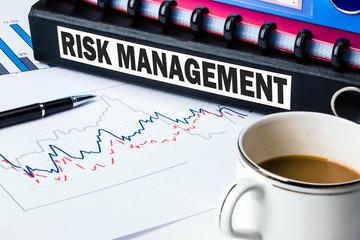 risk management label on folder