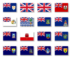 British Overseas Territories, Flag Collection