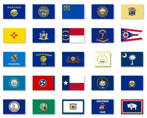 Usa State Flag Collection-Part 2