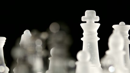 4K. Chess game board dynamic change of focus