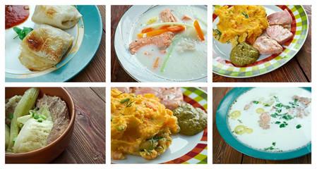 European  Scandinavia cuisine