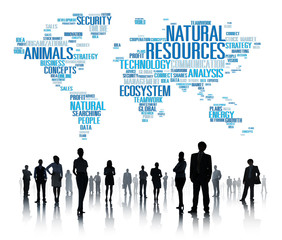 Natural Resources Environment Conservation Concept