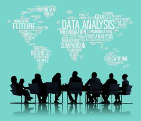 Data Analysis Analytics Information Networking Concept