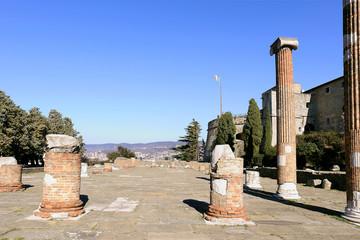 San giusto ruins and medieval castle