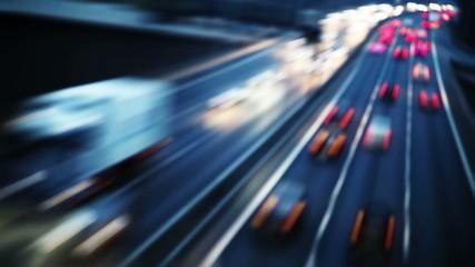 futuristic highway