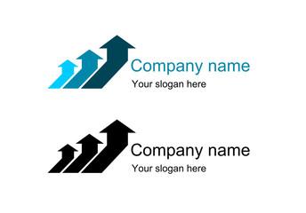 logo moving arrows