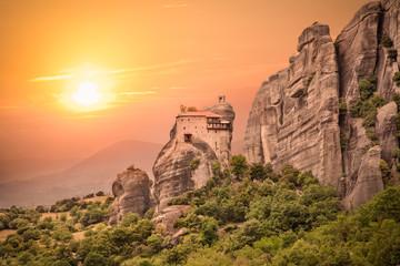 Holy Monastery of Saint Nicholas Anapausas, Meteora, Greece.