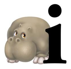 i di ippopotamo