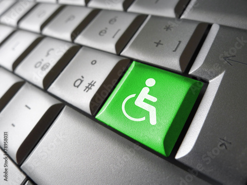 Website Accessibility Concept - 78958031