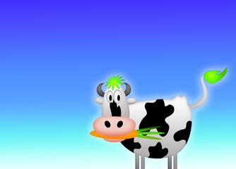 Vegane Kuh / Vegan / Cow / Ohne Rasen