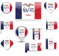 Iowa Flag Collection