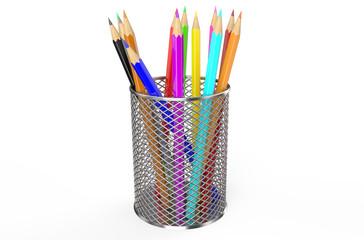 Color pencils in holder 2