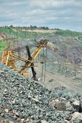 Opencast excavator