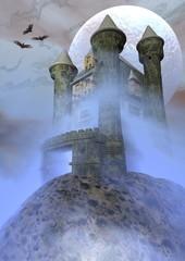 Odd castle - 3D render