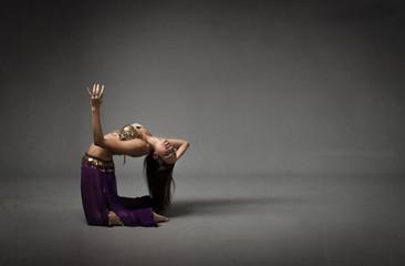 belly dancer performing dance
