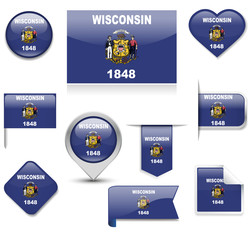 Wisconsin Flag Collection