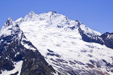 Caucasus mountains in Russia