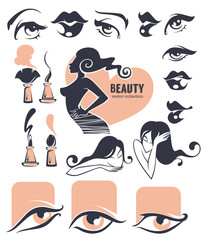 beauty and makeup collection