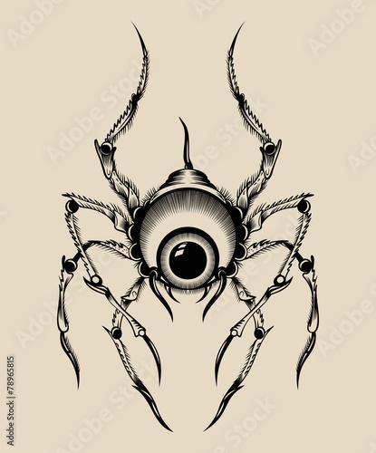 Illustration of a monster. - 78965815